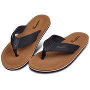 Men Breathable Walking Beach Soft Flip Flops Slipper