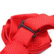 Цветочные Homochromy галстук Красный острый угол Жених Свадьба Аксессуары