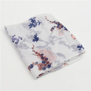 180*90CM Women Floral Print Lady Long Soft Wrap Lady Shawl Voile Scarf Scarves