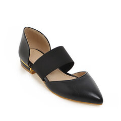 Elegant Ladies Flat Shoes Fashion Contract Casual Shoes Special Cut-Outs Shoes