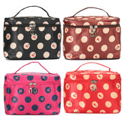 4 Colors Cherry Makeup Cosmetic Toiletry Bag Case Storage Large Capacity Organizer Travel