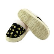 Skull Cotton Keep Warm Slip On Flat Indoor Home Shoes Slippers