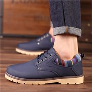 British Style Breathable Recreational Casual Lace Up Oxford Shoes