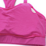 Sexy Seamless Wireless Breathable Sports Bra Full Cup Running Bras For Women