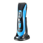 Pritech PR-1667 IPX7 Waterproof Washable Mute Ceramic Hair Trimmer Clipper Kit