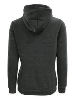 Women Casual Thicken Letter Print Hooded Hoodie