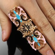 Vintage Hollow Butterfly Joint Ring