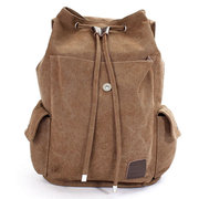 Casual Outdoor Travel School Canvas Backpack