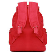 Casual Canvas Backpack Fashion Girl Student Simple Shoulder Bag