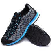 Сетка Соты Дышащие Узелок Металл Спорт Беговая Открытый обувь