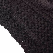 Womens Knitted Soft Warm Hat Scarf Snood Two Ways Crochet Beanies Hats