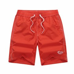 6 Colors Mens Summer Pure Color Swimming Shorts Casual Loose Beach Shorts