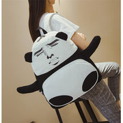 Cartoon Funny Creative Backpack Large Pacacity Canvas Casual School Bags