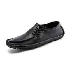 Big Size Men Comfortable Loafers Lazy Round Toe Slip On Driving Shoes