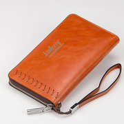 Men Business 6.7inch Phone Bag Wallet Card Holder For iPhone Samsung Xiaomi Sony Huawei