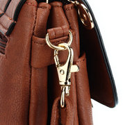 Women Elegant Messenger Bags Hollow Out  Rotary Buckle Shoulder Bags Crossbody Bags