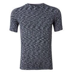 Summer Sport Bodybuilding Tight Tops Tees Quick Dry Slim Fit Short Sleeve T-shirt For Men