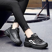 Heavy-Bottomed Sport Shoes Elevator Casual Running Shoes Ladies Outsides Shoes