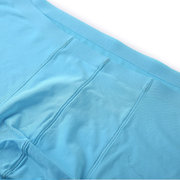 Summer Mens Solid Color Boxers Ice Sense Thin Breathable Sexy Underwears