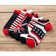 Fancies Elasticized Reinforced Various Styles 5 Pairs Set Low cut Casual Socks For Men