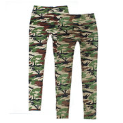 Women Lady Camouflage Trouser Army Tights Pants Stretch Leggings