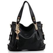 Women Casual Leather Pendant Shoulder Handbag