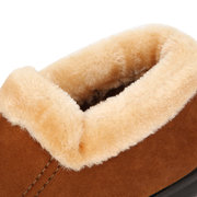 Large Size Women Keep Warm Suede Cotton Ankle Snow Boots