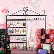 10 Hooks 80 Holes Jewelry Display Stand