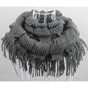 Fashion Korean Style Winter Warm Tassels Knitted Women Scarf