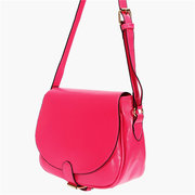 Women Simple Leather Crossbody Bag
