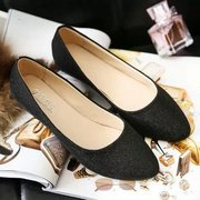 Bling Candy Color Flat Ballet Shoes