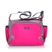 Women Nylon Lightweight Multi-pocket Sports Outdoor Travel Shoulder Bags Crossbody Bags