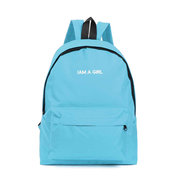 Women Canvas Candy Color Casual Travel Sport Outdoor Backpack Girls Sweet Schoolbags