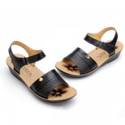 Casual Genuine Leahter Flat Sandals