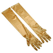 Long Satin Bridal Glove Wedding Party Prom Fancy Dress Elbow Opera Gloves