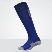 Sweat Absorption Breathable Football Stockings Thin Anti-skid Sport Knee Socks For Men