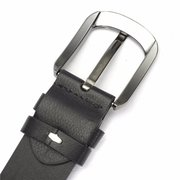 Men Women Pin Buckle Leather Belt Casual Waistband Strap