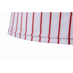 Летние мужские Вертикальная полоса Slim Fit V шеи короткими рукавами хлопок База футболки