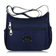 Women Nylon Waterproof Casual Multi-pocket Shoulder Bags  Crossbody Bags