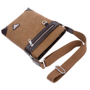 Men Retro Canvas Casual Messenger Crossbody Bag