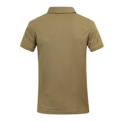 Summer Breathable Quick Dry Casual Lapel Short Sleeved Polo T-shirts For Men