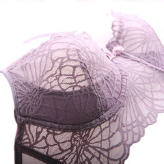 Women Sexy Ultrathin Lace Breathable Bra Sets Push Up Embroidered Bra Sets