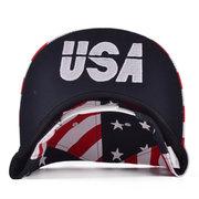 Мужчины Женщины Флаг США Snapback Регулируемая бейсболке Хип-хоп Hat