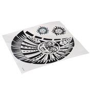 Водонепроницаемый ВС Тотем Pattern Временное Грудь Тело татуировки наклейки этикета