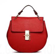 Stylish Women PU Leather Chain Satchel Tote Shoulder Bag Crossbody Bag