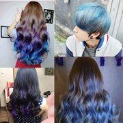 4 цвета Unisex DIY Цвет волос Воск грязевые Одноразовая Временное моделирование Dye крем