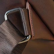 Mens Chest pack PU Crossbody Bag Leisure Sling Bag Travel Bag