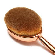5Pcs/Set Gold Oval Toothbrush Makeup Foundation Powder Lip Eyeshadow Brushes