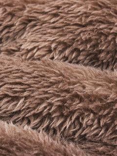 Повседневный Кнопка Печатается с длинным рукавом с капюшоном сгущает пальто для женщин