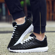 Men And Women Lovers Shoes Lace Up Casual Sport Shoes Wear-Resisting Running Shoes